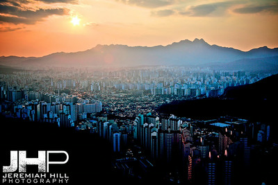 """Seoul from the North #2"", Seoul, South Korea, 2009 Print KOR321-208"