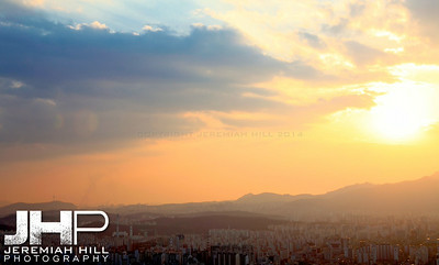 """Seoul from the North #4"", Seoul, South Korea, 2009 Print KOR321-213"
