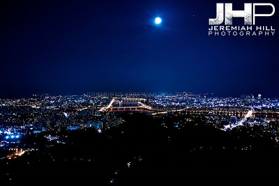 """Seoulscape Night #2"", Seoul, South Korea, 2009 Print KOR3B94-017"