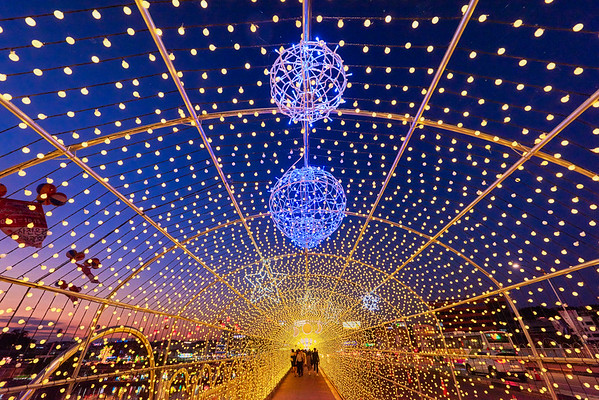 Light Tunnel at Jinju Lantern Festival