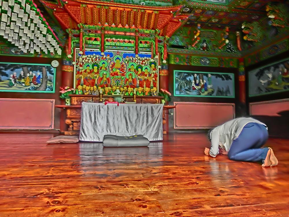 Gagwonsa Buddhist Temple in Cheonan, Korea