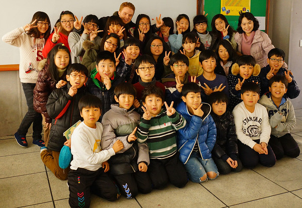Teaching English Overseas group photo