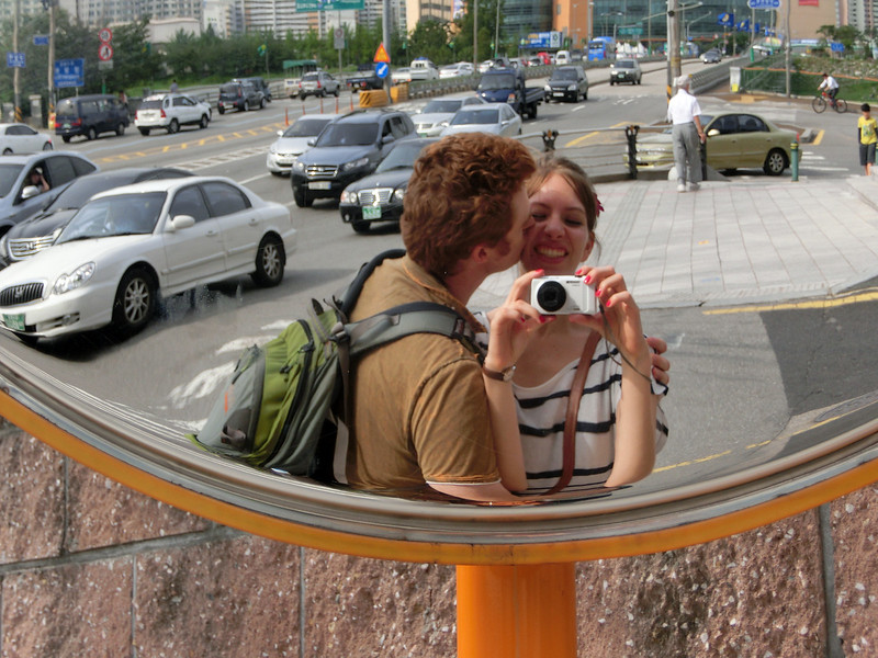 Audrey and Sam in Korea