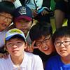 Sports day at my Korean elementary school.