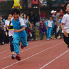 Sports day at my Korean elementary school.
