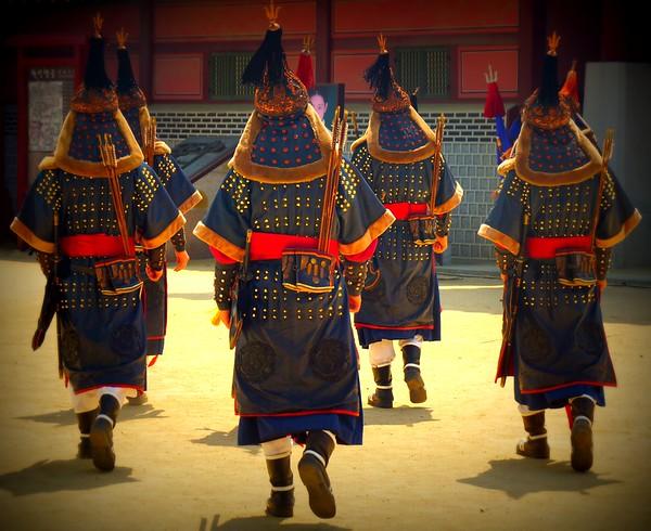 Traditional performances in Suwon, Gyeonggi-do