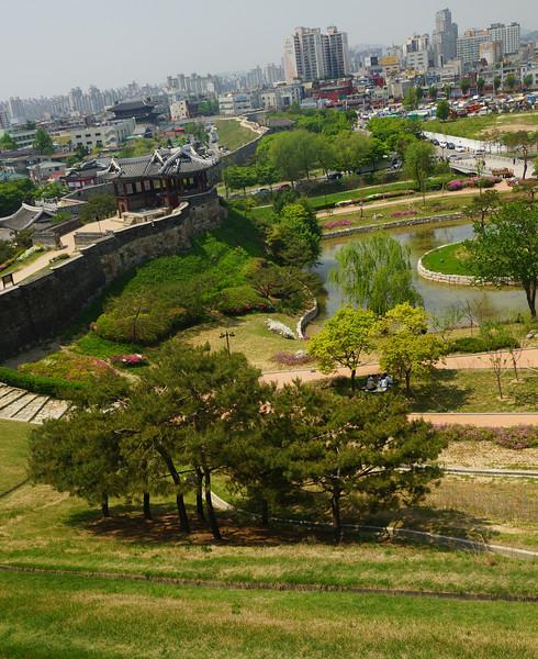 Adventures in Gyeonggi provinces capital city of Suwon.