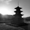 "A Korean pagoda along the way to the cultural hub of Gyeongju, South Korea.  Travel photo from Gyeongju, South Korea. <a href=""http://nomadicsamuel.com"">http://nomadicsamuel.com</a>"
