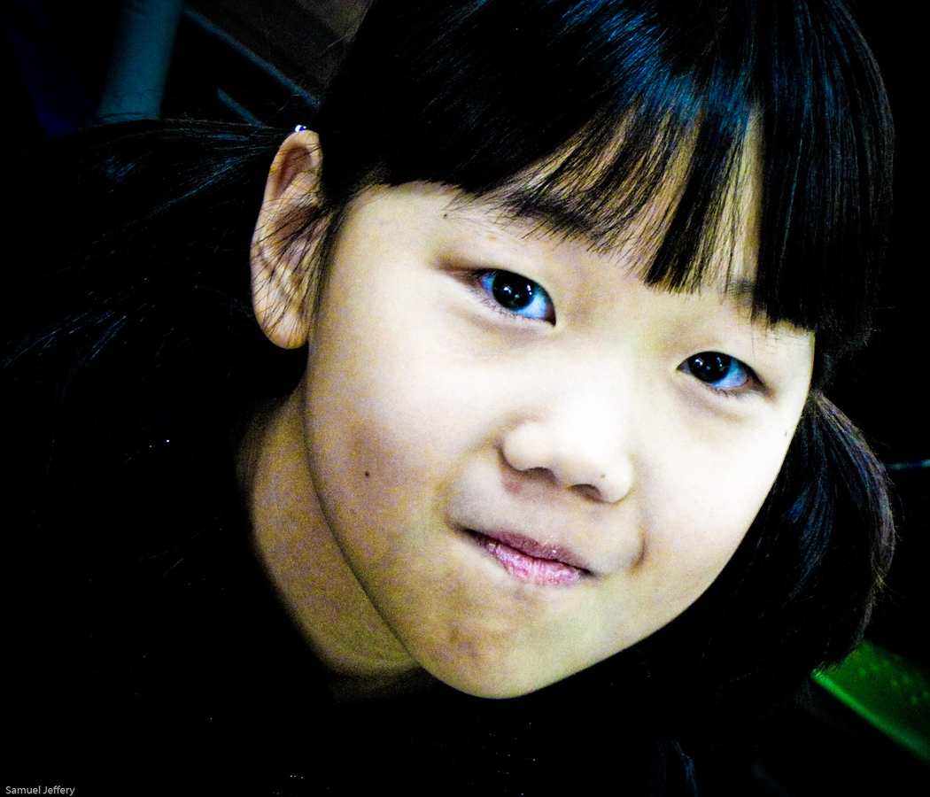 Shy Korean Student in Daejeon, South Korea