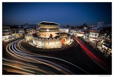 Paldalmun - Pictures of Korea