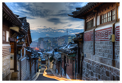 Bukchon@Dawn - Pictures of Korea