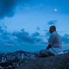 Moonlight Meditation Mt. Inwang Seoul, Korea - Pictures of Korea