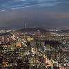 View from Woomyeon Mountain (우면산) in Seoul - Pictures of Korea