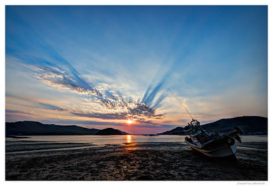 Found at Sea - Korean Sunsets Ganghwado, Korea