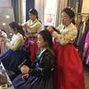Kelsey and JiYeon in Hanbok Renal Shop  Korea