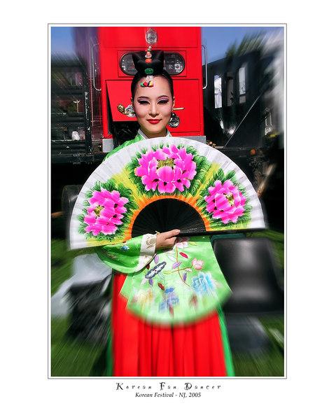 01 Korean Fan Dancer