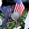 Members of the Pittsfield VFW Post 448 hold a small ceremony outside of City Hall in Pittsfield to commemorate those who fought and died in the Korean War on Saturday, July 31, 2021.