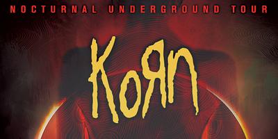 Korn - Nocturnal Underground Tour