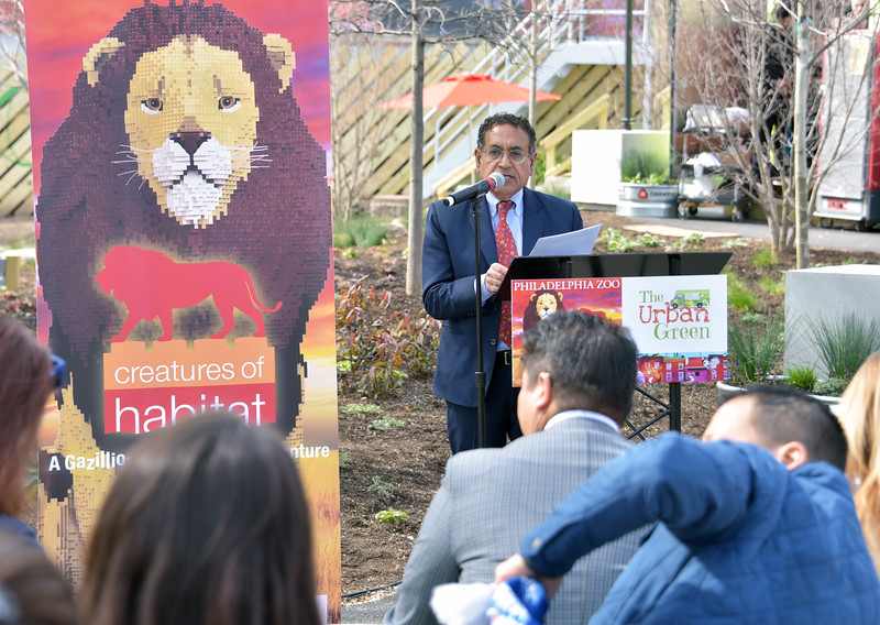 Vikram H. Dewan, president and CEO of the Philadelphia Zoo