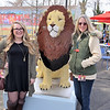 Rachel Harvey and Suzanne Harvey. Rachel won a contest about her childhood memories of the Philadelphia Zoo Key.