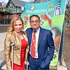 Sheila Hess, City Representative and Vikram H. Dewan, CEO of the Philadelphia Zoo