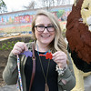 Rachel Harvey was invited to the Phila Zoo after responding to a prompt by the Philadelphia Zoo twitter account for people to tell their memory of the Philadelphia Zoo Key and she recounted the story of how she and her bother used to fight over who would put their key in animal exhibit box to hear the stories, stories they had heard many times before but were still excited about them.