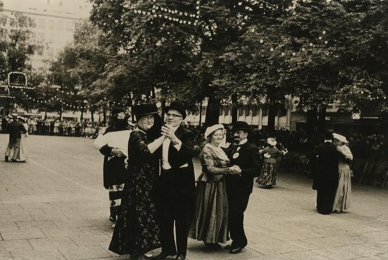 Bal 1900 op de Kouter, 1976.