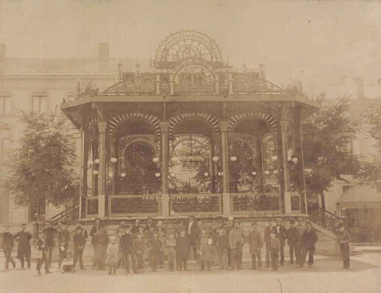 Kiosk, Kouter, 1910.