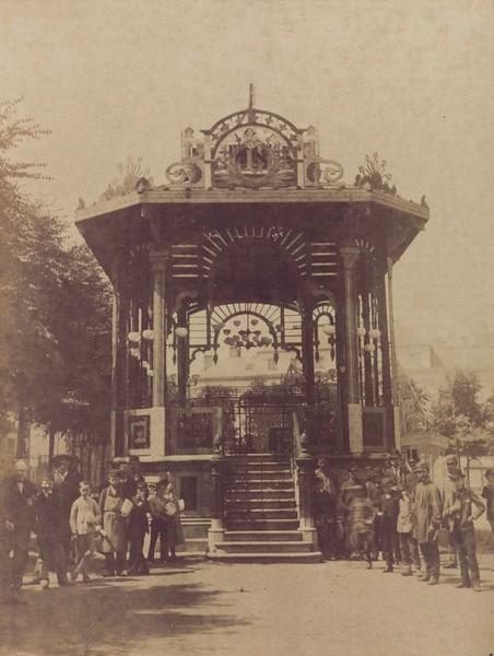 Kiosk op de Kouter, 1910.