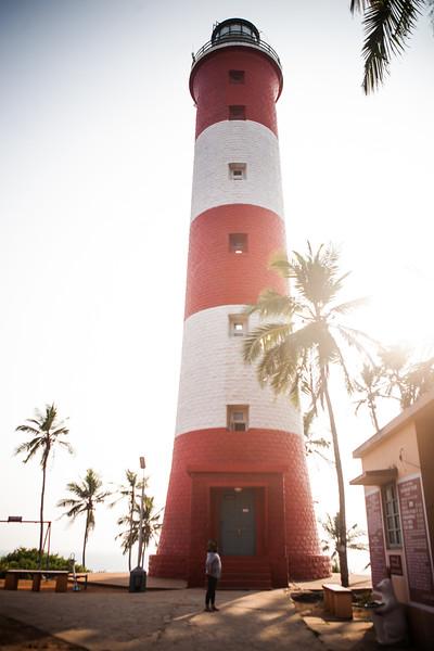Vizhinjam Light House at Kovalam beach, Kerala, India