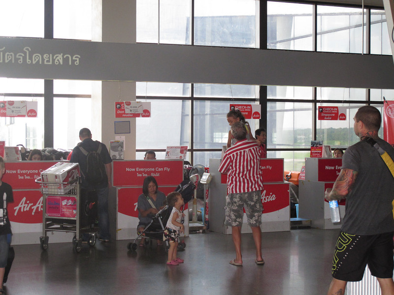 Air Asia Check-In Counter, Krabi Airport Terminal 1