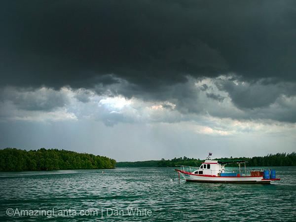Krabi. Town. Thailand.