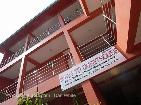 Bantho Guest House. Krabi Town. Thailand.