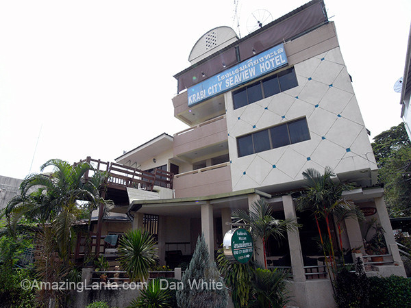 Seaview Hotel. Krabi Town. Thailand.