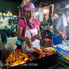 Walking Street Weekend Night Market. Krabi Town. Thailand.