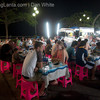 Night Market eating. Chao Fah Pier. Krabi Town. Thailand.