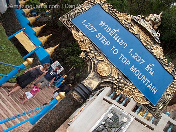 Tiger Cave. Krabi Town. Thailand.