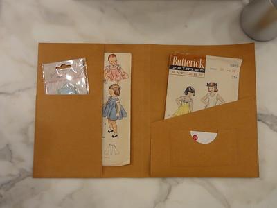 Kraft-tex folder