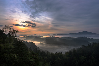 Jetřichovické ráno