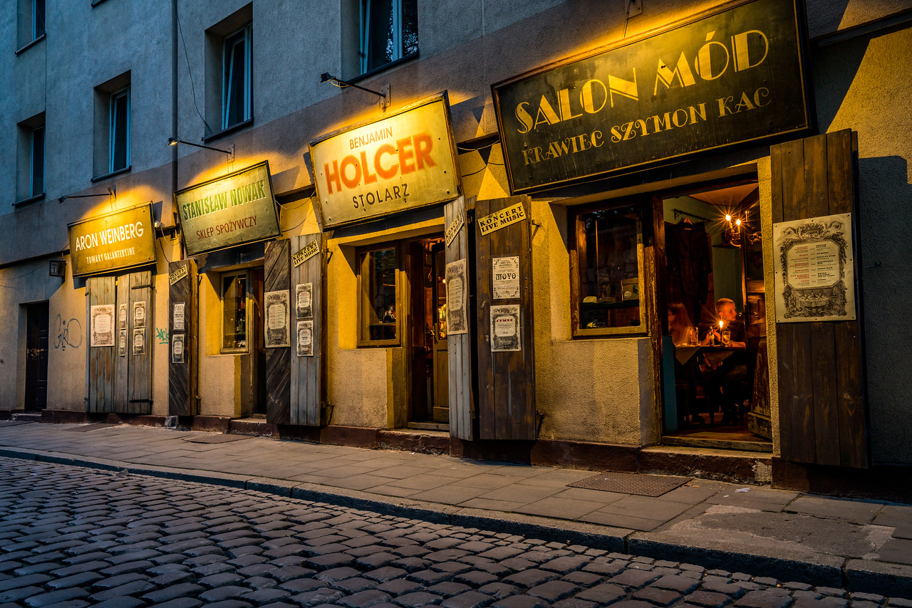The Jewish section of Krakow
