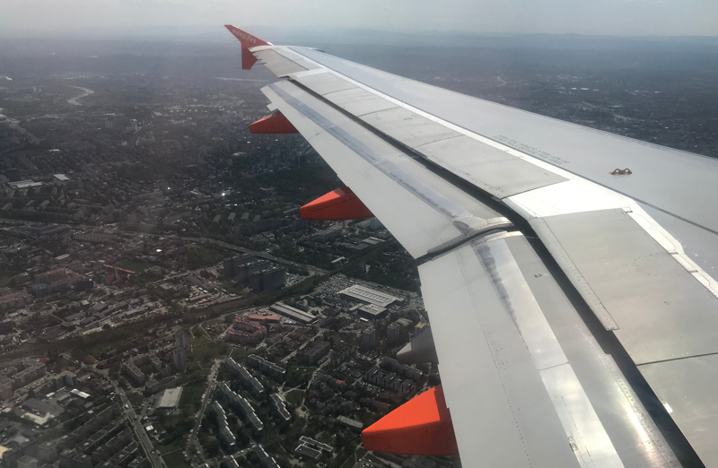Landing in Krakow
