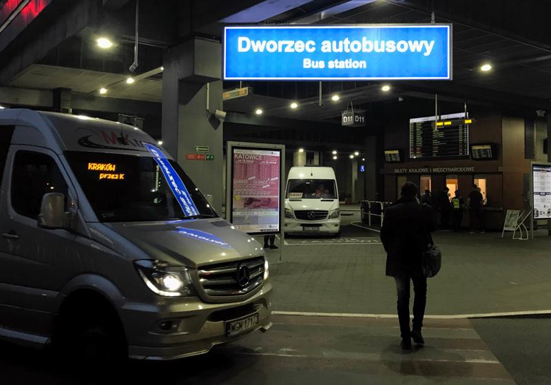 Dworzec Autobusowy coach station, Krakow