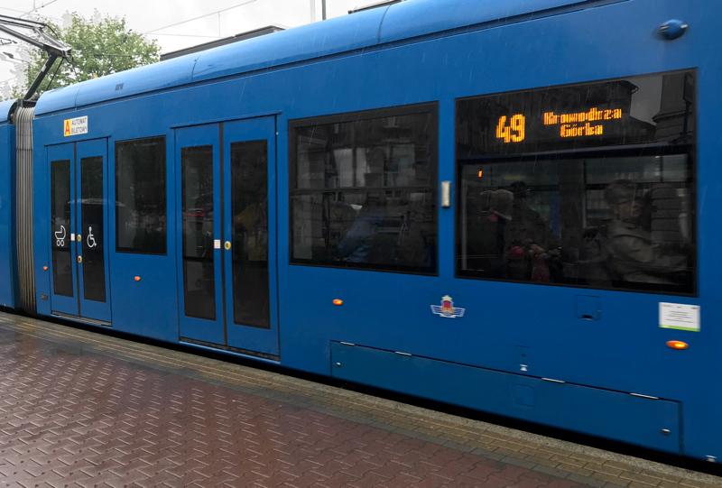 Public transport is the best way to get around Krakow