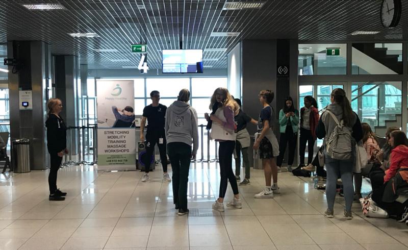 Krakow Airport exercise class