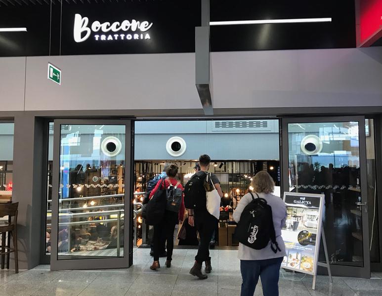 Boccone Trattoria Krakow Airport
