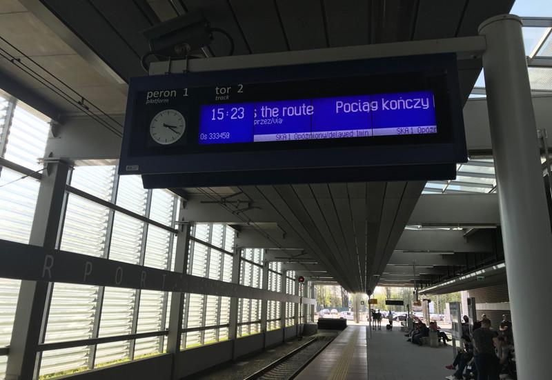 Krakow Lotnisko train station