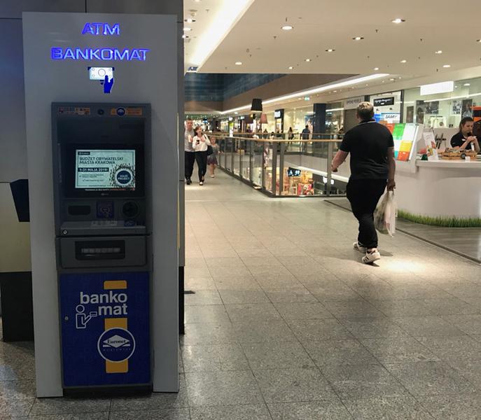 Euronet ATM in Galeria Krakowska