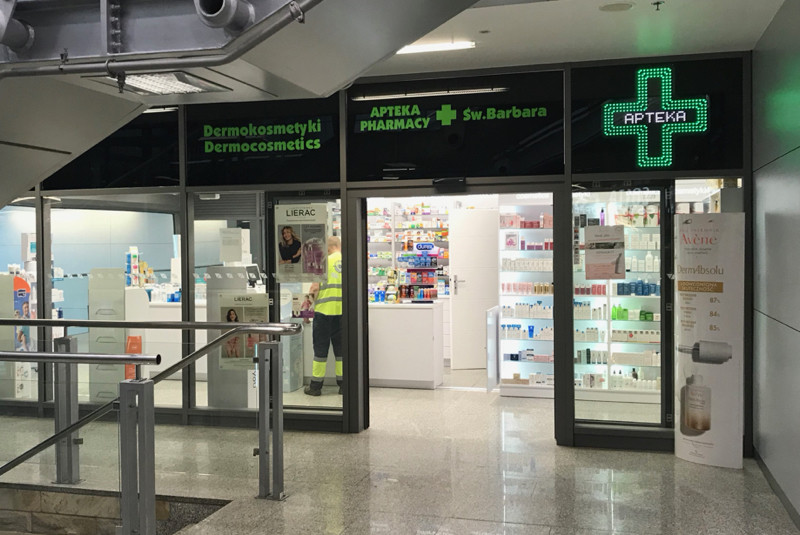 Pharmacy Krakow Airport