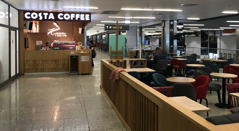 Costa Coffee Krakow Airport