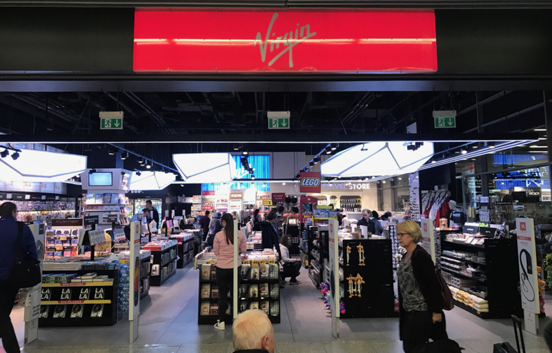 Virgin store Krakow Airport
